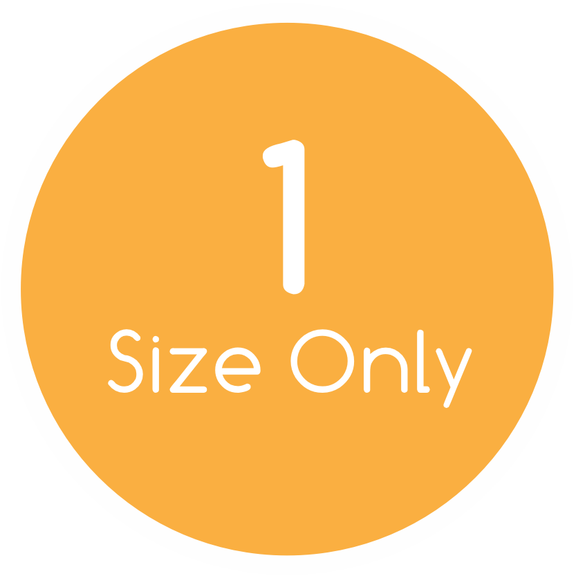 Circle orange 1size